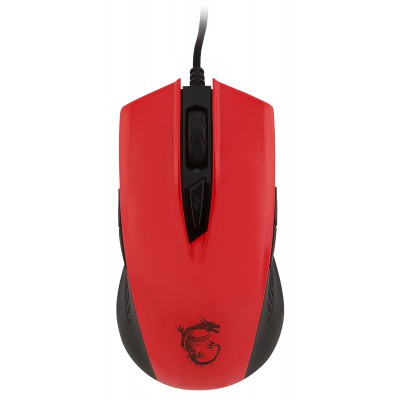 MSI Clutch GM40 red