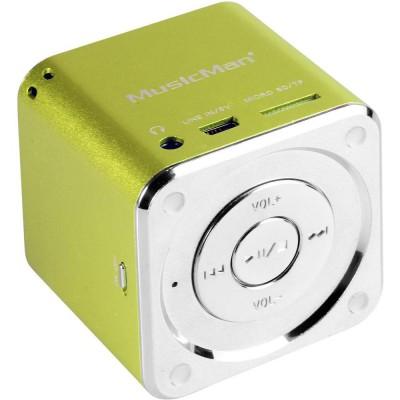 Technaxx Mini MusicMan Soundstation Green