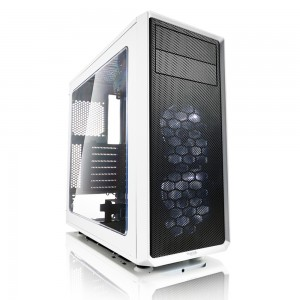 Fractal Design Focus G with Window Side Panel (White)