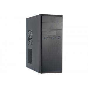 Chieftec Midi-Tower Black Computer Case