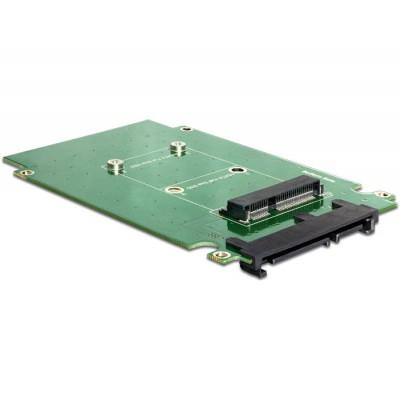 Delock Converter SATA 22 pin > mSATA with 2.5″