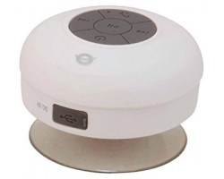 Conceptronic Wireless waterproof Bluetooth Suction Speaker White