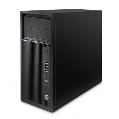 HP Workstation Z240 ΜΤ (i7-6700/8GB/256GB SSD/W7)