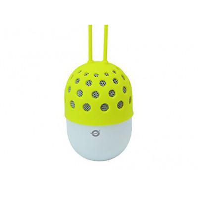 Conceptronic Wireless waterproof Bluetooth LED Speaker Yellow