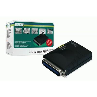 DIGITUS Fast Ethernet Print Server