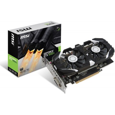MSI GeForce GTX 1050 Ti 4GT OC, (V809-2277R)