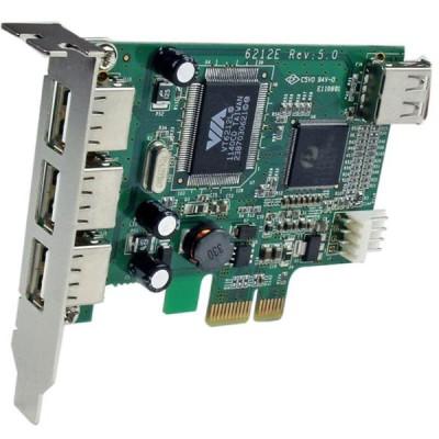 StarTech 4-port Low Profile PCI-E USB Card