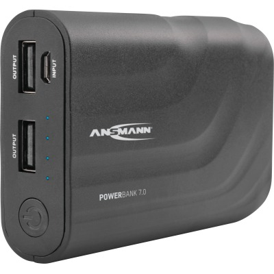 Ansmann Power Bank 7.0 6600 mAh (black)