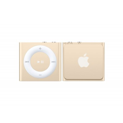 Apple iPod Shuffle 2GB 4th Generation 2015 Gold