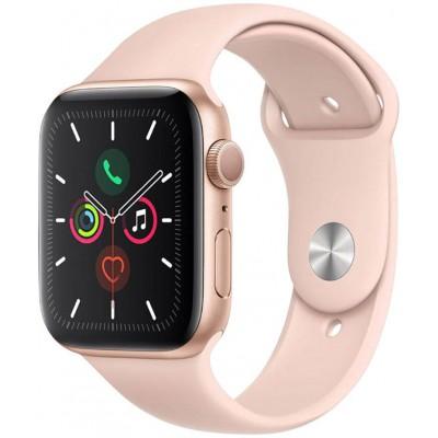 Apple Watch Series 5 GPS 44mm Gold Aluminium Case, Pink Sand Sport Band