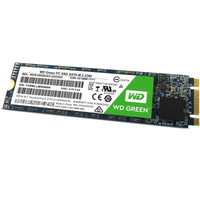 WD Green PC SSD WDS120G1G0B - solid state drive - 120 GB