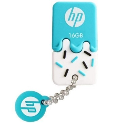 HP V178B 16 GB USB Flash Drive - Blue