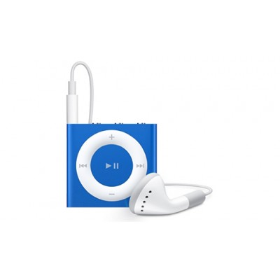 Apple iPod Shuffle 2GB 4th Generation 2015 Blue