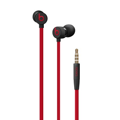 Apple urBeats3 Earphones with 3.5mm Plug - Defiant Black-Red