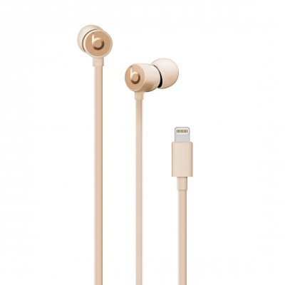 Apple urBeats3 Earphones with Lightning Connector - Satin Gold