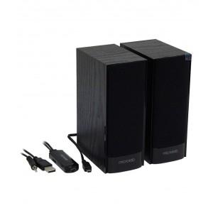 Microlab B56 2.0 active speaker Black, Wood