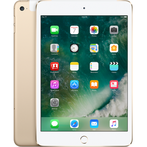 Apple iPad mini 4 WiFi and Cellurar (128GB) Gold