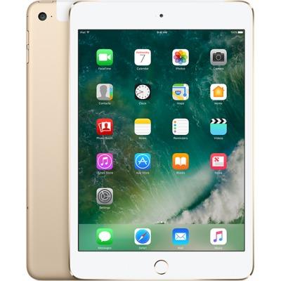 Apple iPad mini 4 WiFi and Cellurar (128GB) Gold