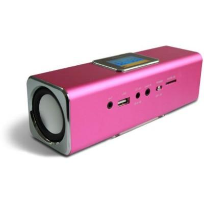 Technaxx MusicMan MA Display Soundstation (Pink)