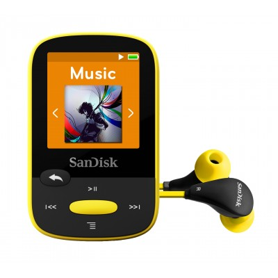 Sandisk Clip Sport 8GB Yellow