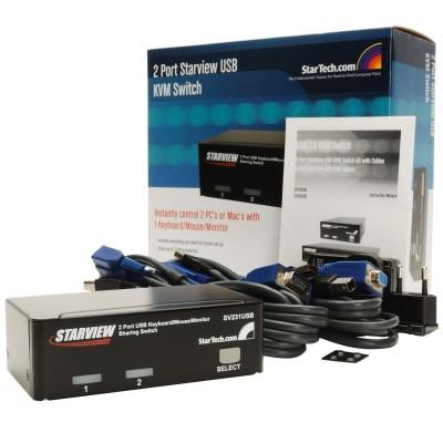 StarTech 2 Port Professional USB KVM Switch Kit