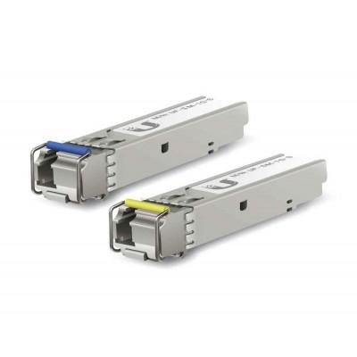 Ubiquiti U fiber, single-mode modules, 1G, BiDi, 2-Pack