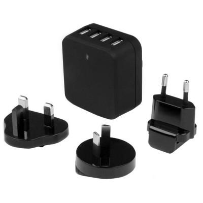 StarTech.com 4-Port USB Wall Charger