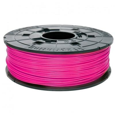 Filamentcassette Neon Magenta ABS 3D printer Da Vinci