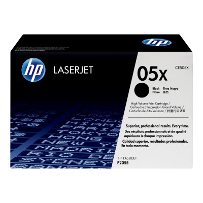 HP 05X Black Toner High Yield (CE505X)
