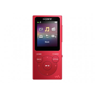 Sony NW-E393 (4GB) Red