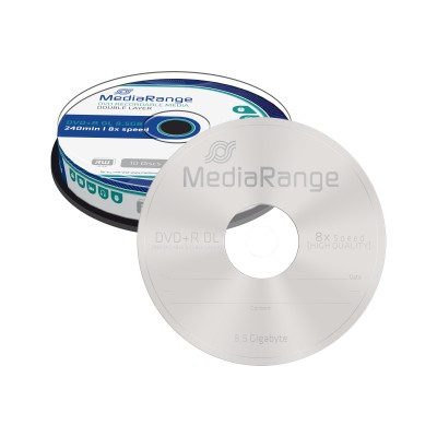 MediaRange DVD+R Dual Layer 8.5GB 10 pieces
