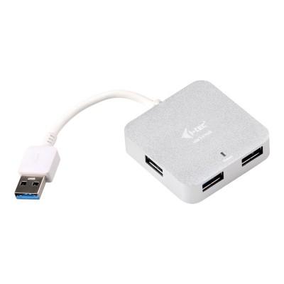 i-tec USB 3.0 Metal Passive Hub 4 Port (USB-A)