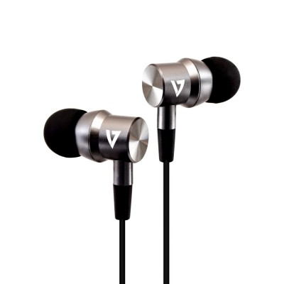 V7 3.5 mm Noise Isolating Stereo Earbuds for Apple