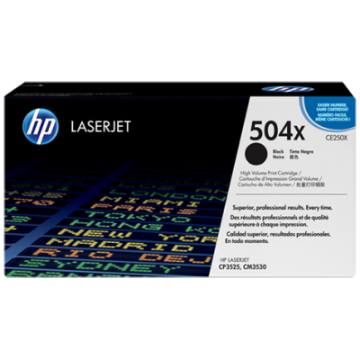 HP 504X Black High Yield (CE250X)