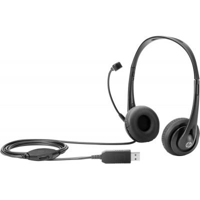 HP Stereo USB Headset T1A67AA