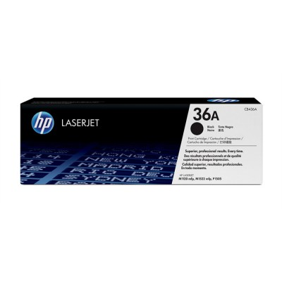 HP 36A Black (CB436A)