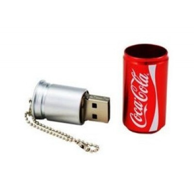 COCA-COLA USB CAN Aluminum 16GB RED