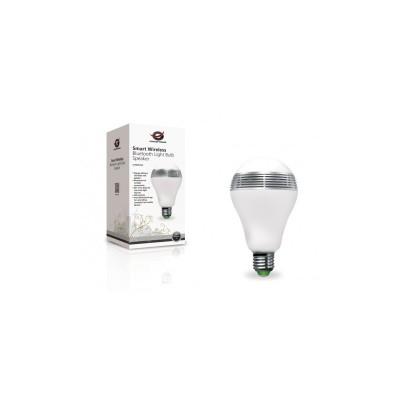 Conceptronic Smart Wireless Bluetooth Light Bulb Speaker