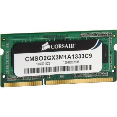 Corsair CMSO2GX3M1A1333C9 2GB DDR3 1333MHz