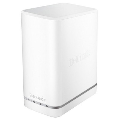 D-Link 2-Bay Network Attached Storage DNS-327L (Diskless)