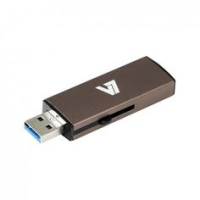 V7 USB STICK 8GB USB3.0 GREY