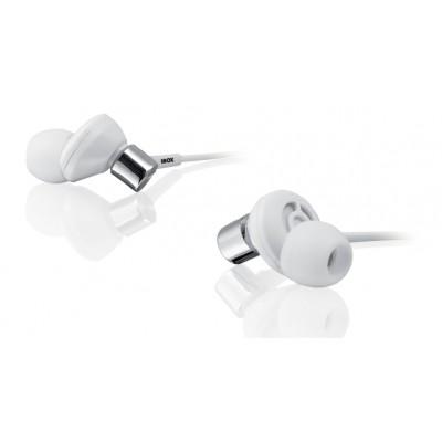 iBox Ακουστικά Ψείρες In Ear P009 Λευκά