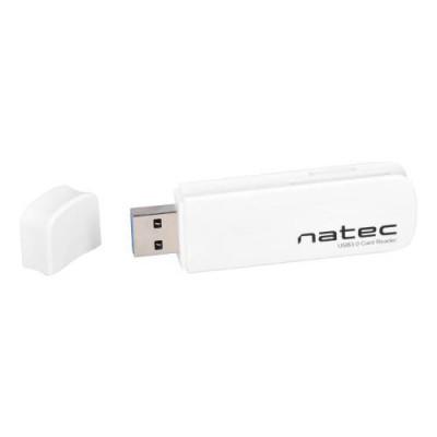 Natec Mini Card Reader White