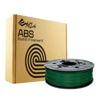 DaVinci Filamentcassette Green Refill Bottle for ABS da Vinci 600g