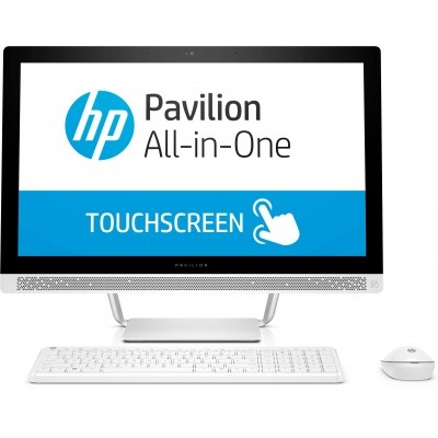 HP Pavilion 24-b225na Touch (A12-9730P/8GB/1TB/Radeon R7/FHD/W10) Blizzard White