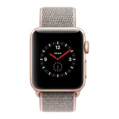 Apple Watch Series 3 GPS Cellular 38mm (Pink Sand Sport Loop)