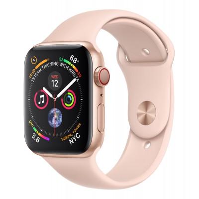 Apple Watch Series 4 Cellular Aluminium (44mm) Pink Sand Sport Band