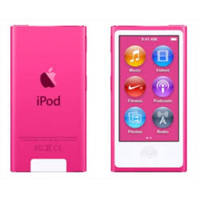 Apple iPod Nano 16GB 7th Generation 2015 Pink