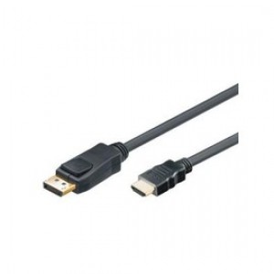 Mcab  Display Port to HDMI Cable 2 m