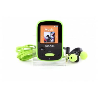 Sandisk Clip Sport 8GB Green
